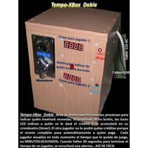 Temporizador Tempo-xbox Doble Operado X Monedas Tragamonedas