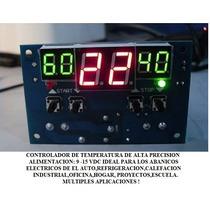 12v Controlador De Temperatura Programable Envio Mismo Dia !