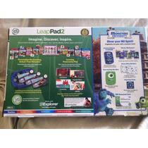Tableta Leappad 2 Edicion Monster University De Leapfrog