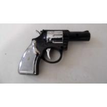 Pistolita Broma Revolver Luz Y Tokes