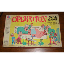 Operation Skill Game Vintage Mb 60