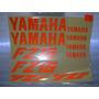 Calcomanias Yamaha Fz-16 Naranja Reflejante