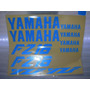 Calcomanias Yamaha Fz-16 Azul Reflejante