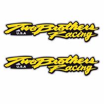 Sticker - Calcomania - Vinil - Logo Two Brothers Racing