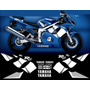 Stickers, Calcomanias Yamaha R6 2001-2002