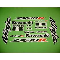 Kit De Stickers Calcomanias Para Moto Kawasaki Ninja Zx10r