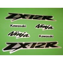 Kit De Stickers Calcomanias Para Moto Kawasaki Ninja Zx12r