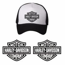 Sticker Harley + Gorra