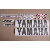 Yamaha Yzf-r1 2003 - Calcamonias,silver Version ,sticker Set