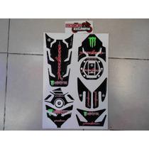 Kit Protector De Yugo Completo Bajaj Pulsar 200ns Negro