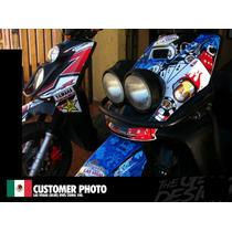 Sticker Pack Yamaha Bws 100 , 125 , Somos Los Originales