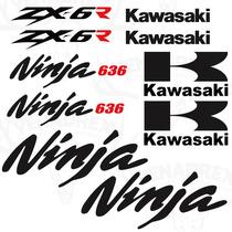 Stickers Para Kawasaki Zx6r 2005