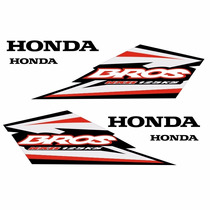 Sticker - Calcomania - Vinil Kit Stickers Honda Bross