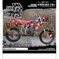 Kit De Calcas Honda Crf Cr Xr