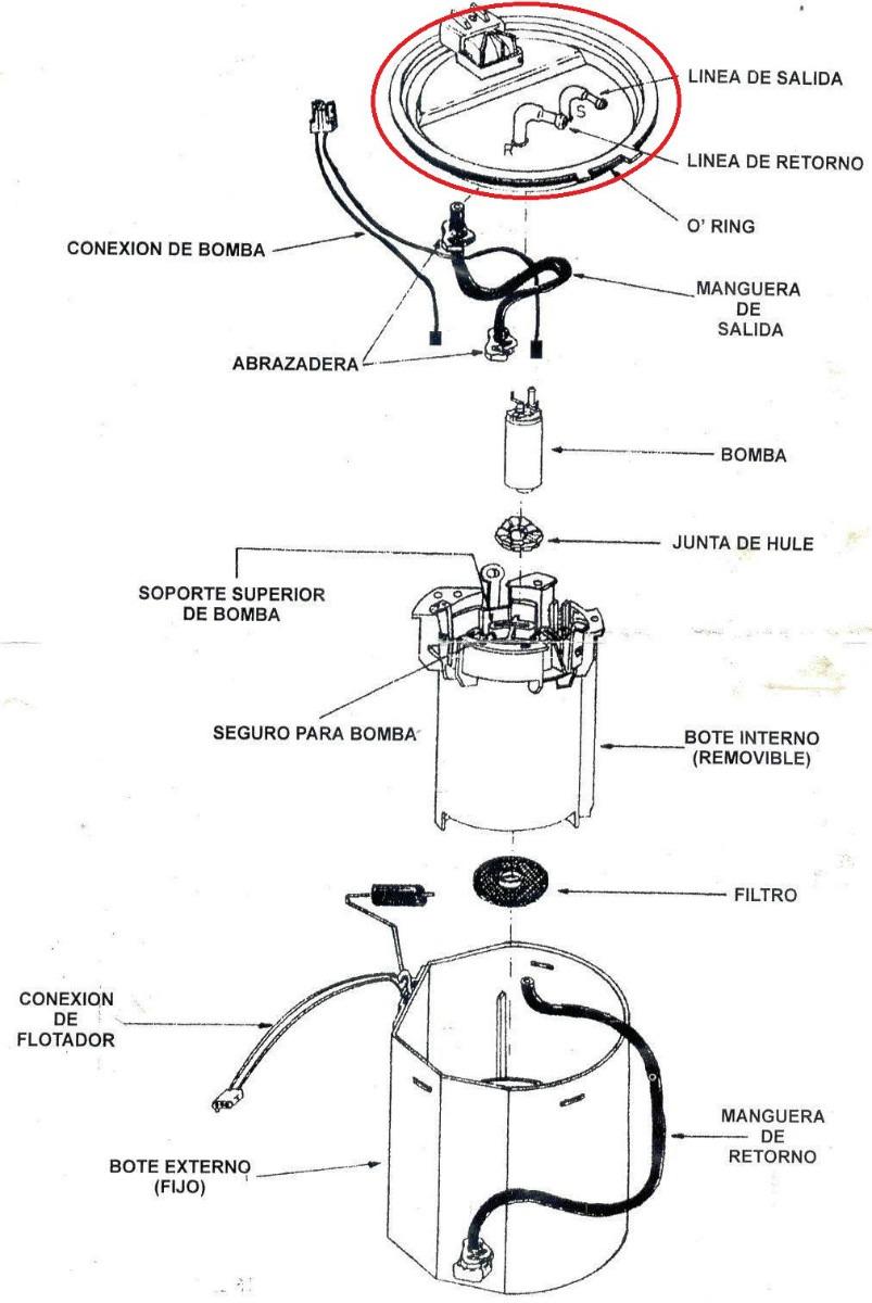 Fotos de la bomba de gasolina de chevrolet venture montana e impala