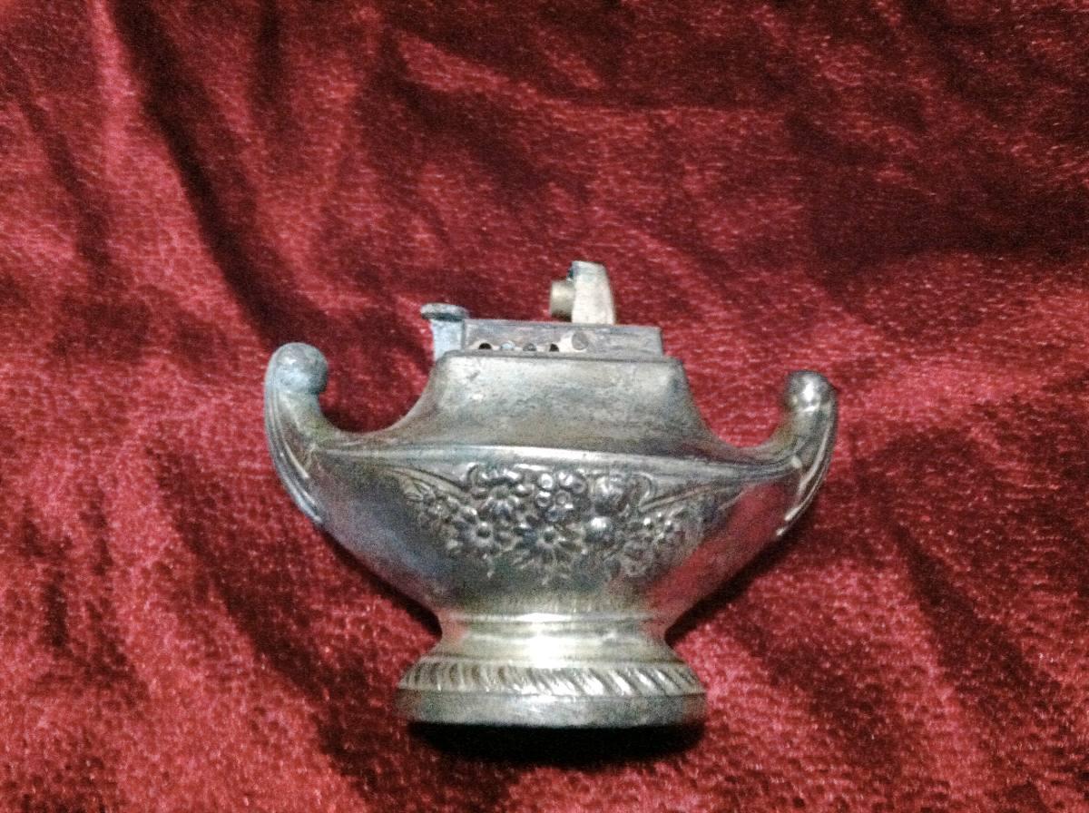 Encendedor bano de plata de coleccion en for Bano de plata precio