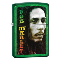 Encendedor Zippo Original Edición Bob Marley (verde)
