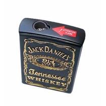 Encendedor Jack Daniels Tipo Soplete Abre En Forma De Carta