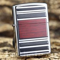 Encendedor Zippo Steel & Wood 28676 Diseño Acero Madera