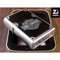 Encendedor Zippo Harley Davidson Carbon Para Coleccionistas