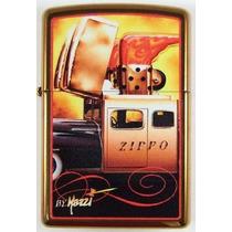 Encendedor Zippo Original Mazzi Zippo Car (coche De Zippo)
