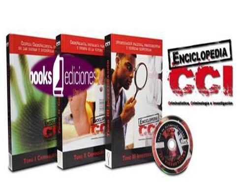 Enciclopedia Cci Criminalística Criminología E Investigación
