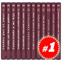 Escuela De Padres 12 Dvds + 12 Fascículos
