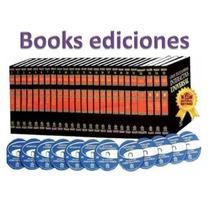 Gran Enciclopedia Universal 25 Tomos + 7 Cd Rom+ 5 Dvds