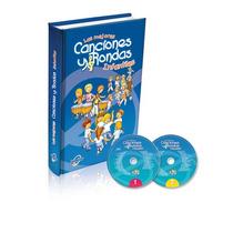 Libro De Canciones Y Rondas Infantiles 1 Tomo + 2 Cd Audio