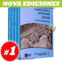 Colección Obras Modernas De Derecho Penal 4 Tomos