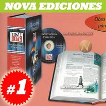 Enciclopedia Secundaria Time-life 1 Tomo + Cd Original Nueva