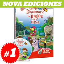 Gran Diccionario De Inglés Para Niños 1 Tomo + Cd