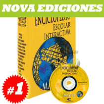Enciclopedia Escolar Interactiva Master 1 Vol + 1 Cd Rom