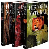 Historia Natural 3 Vols Oceano
