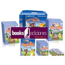 Curso De Ingles Ben & Bella 5 Vols + 5 Dvds + 5 Cuadernos
