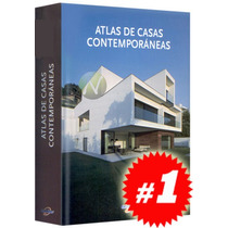 Atlas De Casas Contemporáneas 1 Vol. Nuevo Y Original.