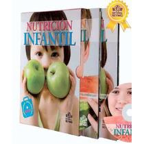 Libros Sobre Nutrición Infantil. Nuevo Y Original
