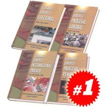 Glosarios Jurídicos Temáticos 4a Serie 4 Vols