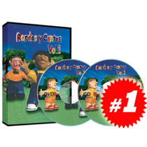 Rondas Y Cantos 1a Serie 1 Dvd + 1 Cd Audio