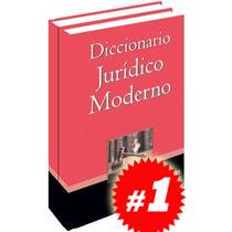 Diccionario Jurídico Moderno 2 Vols