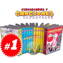 Video Rondas Y Canciones Infantiles 11 Cds Audio + 2 Dvds +