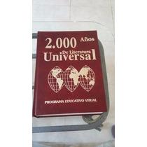 2000 Años De Literatura Universal Programa Educativo Visual