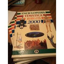 Enciclopedia Temática Biblos 2000 4 Tomos
