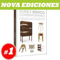 Mueble Rústico Contemporáneo 1 Tomo, Nuevo Y Original