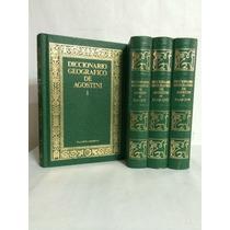 Diccionario Geografico De Agostini 4 Vols Planeta
