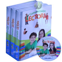 Comprensión Lectora 3 Vols + 1 Cd-rom