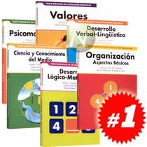 Biblioteca Educación Básica Educación Preescolar 6 Vol + 2cd