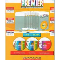 Premier Equipo Escolar Multimedia 6 Vols 2 Dvd 1 Cd Oceano