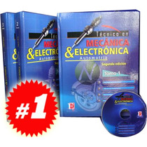 Técnico En Mecánica Y Electrónica 3 Vols + 1 Dvd Nva Edicion