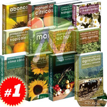 Granja Integral Producción Agrícola 12 Vols + 1 Cd Rom